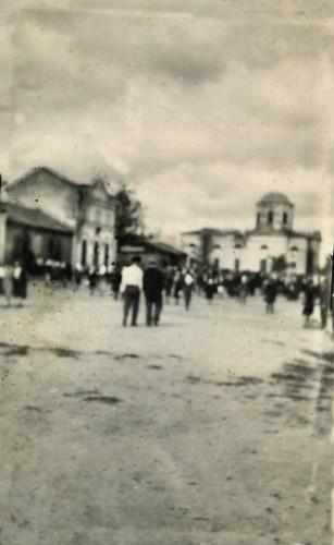 Старая базарная площадь в Котельве